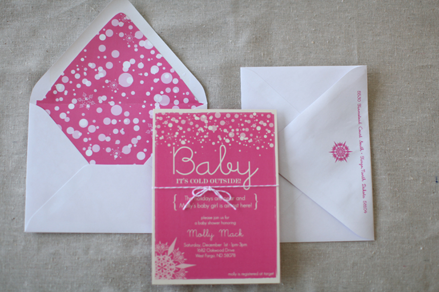 baby it\'s cold outside! – baby shower invitations » Lindsay Arneson ...