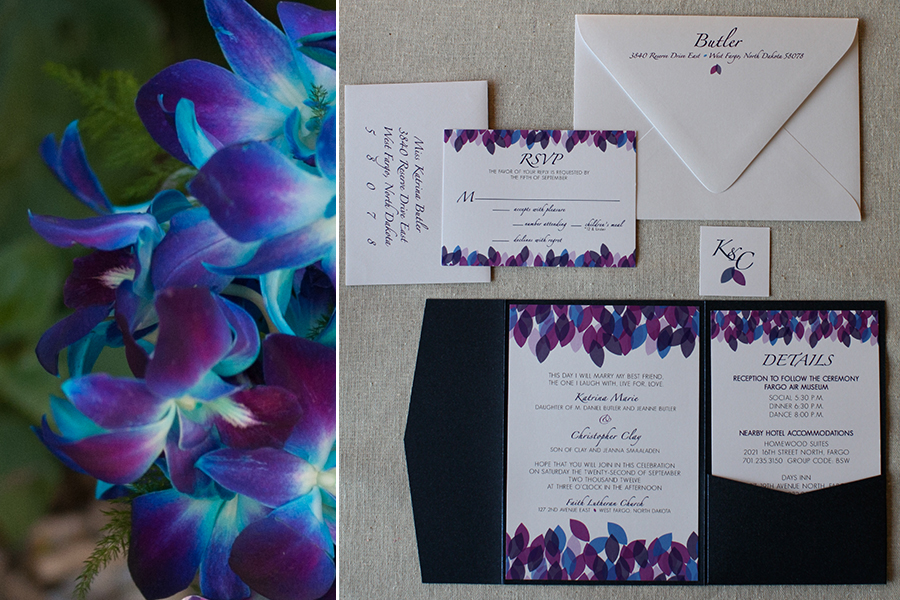 """the """"falling leaves collection"""" – fargo wedding invitations, Wedding invitations"""