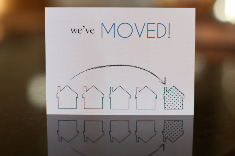 We Ve Moved Announcement Fargo Cards And Invitations